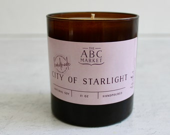 Bookish Candle, Velaris, City of Starlight, ACOTAR Candle, Bookish Inspired Candle, Night Court Candle, Soy Candle, Summer Candle,