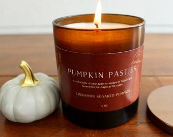 Pumpkin Pasties Candle, Pumpkin Candle, Fall Candle, Bookish Candle, Bookish, Book Lover Candle, Soy candle, handpoured candle, Fall Candles