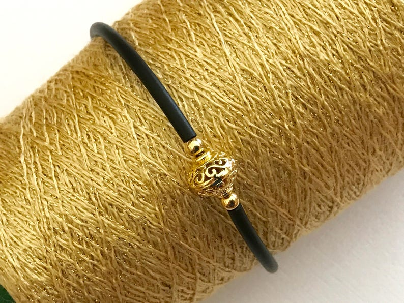 cuff bracelet gold wrap bracelet memory wire thehappylittlebeader 14k gold filled  bracelet 14k goldfilled