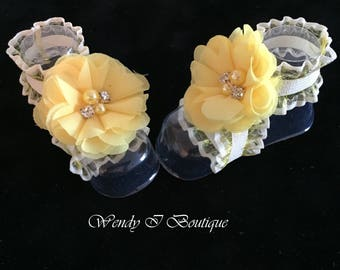 Baby Barefoot Sandals -Pair