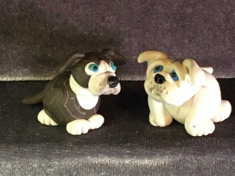 Bullies! Pitbull, English Bulldog, puppy paws  Your choice of one