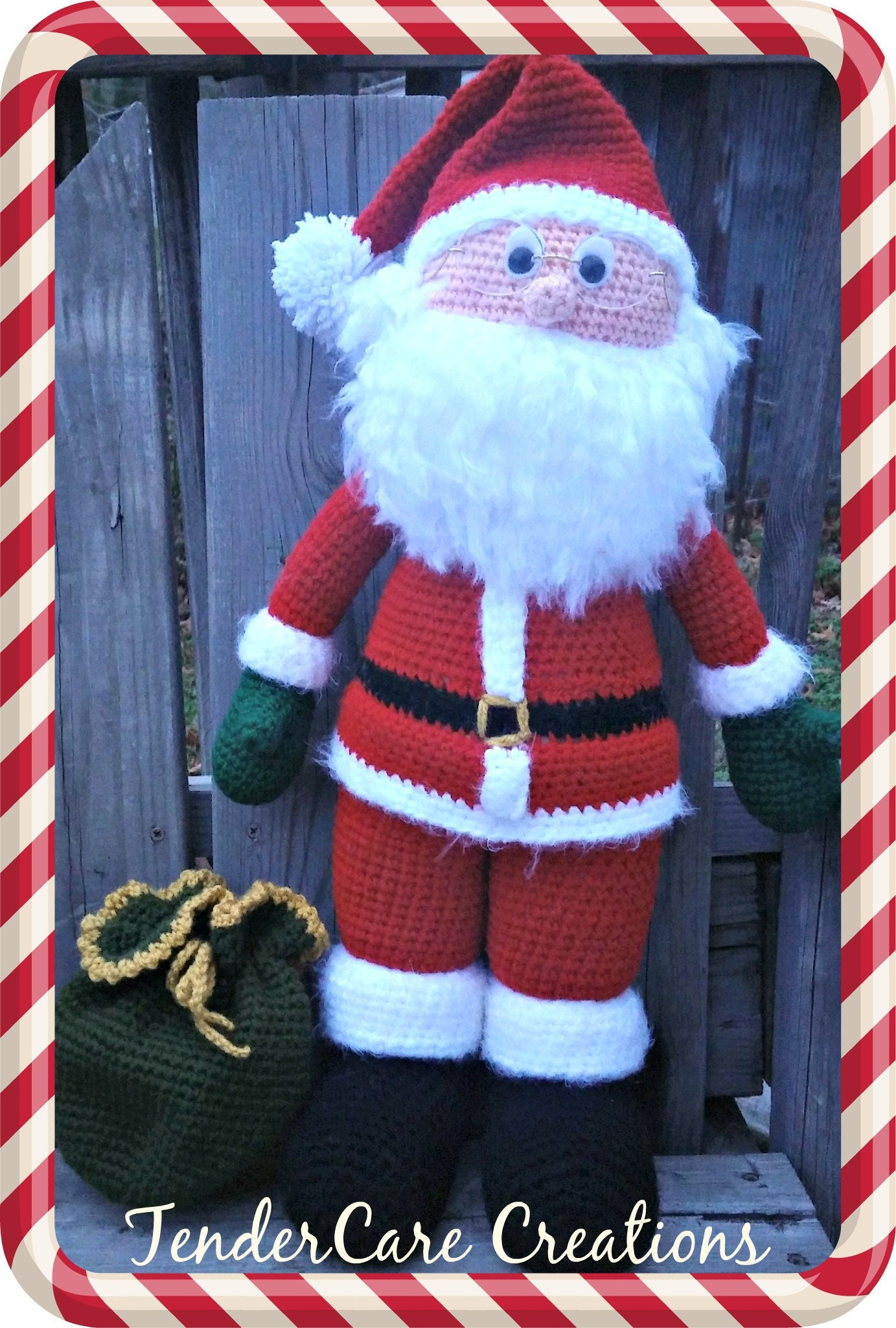 19 Free Amigurumi Christmas Santa Crochet Patterns | Christmas ... | 2050x1383