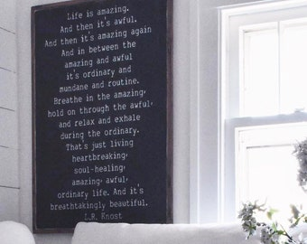 Wall Art Quotes Wood Etsy