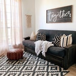 Home decor / Together is our favorite plave to be Framed sign
