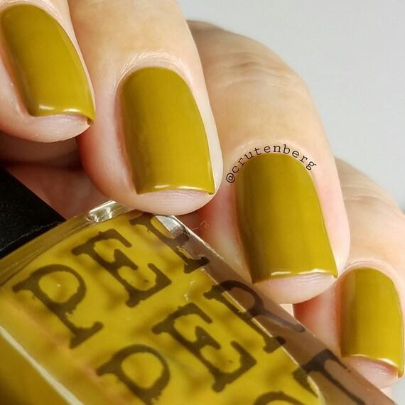Mustard Yellow Nail Polish 5 Free Bombshell Makeup Bath