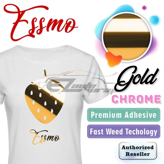 "ESSMO ™ floqué Heat Transfer Vinyl HTV T-shirt 20/"" Iron on Heat Press Fit Circut"