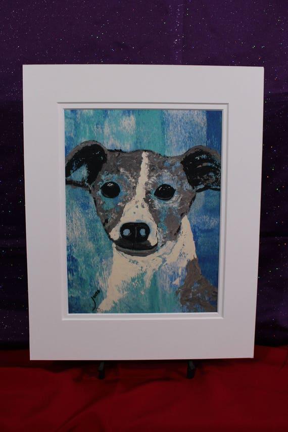 Greyhound Abstract Art