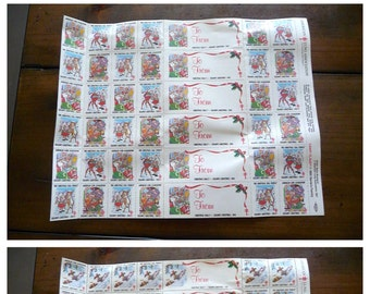 Vintage Christmas Seals, Stamps,  from The American Lung Association