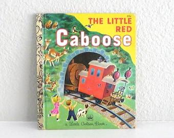 The Little Red Caboose Vintage Little Golden Book