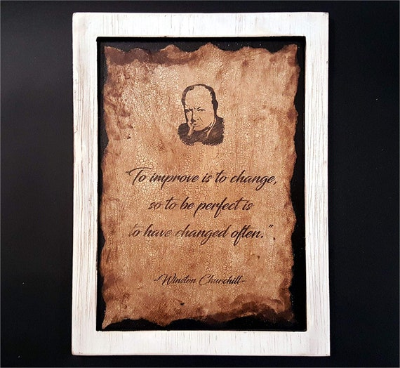 Custom Quotes and Sayings Art Print on Distressed Paper & Wood, Framed/Unframed Option, Inspirational Motivational Vintage Wall Art