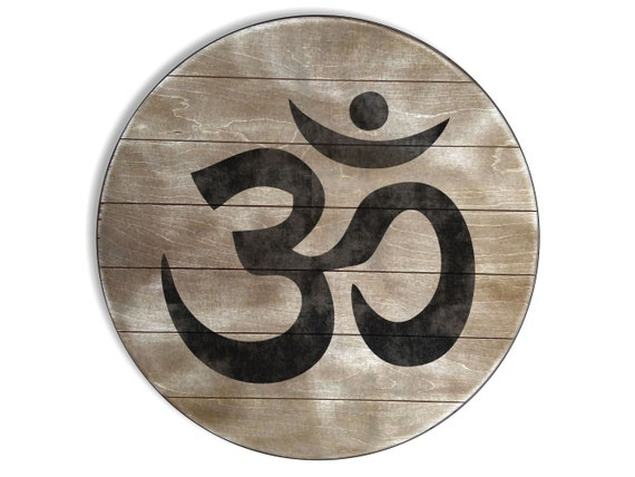 Personalized Zen Meditation Wall Decor Sign, Handmade Artwork on Aged Oak Stained Wood, Create Your Own Spiritual And Empowering Wall Art