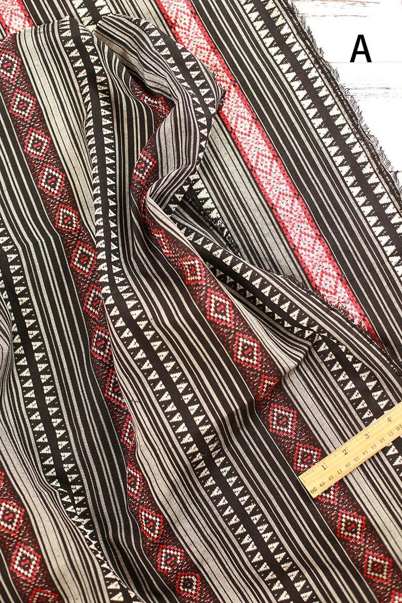 fe53c531ed Stripy bohemio tela tapicería Tribal étnico tela Azteca tela