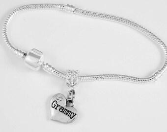 Grammy Jewelry Grammy Gift  Grammy bracelet Granny Bracelet MIMI bracelet OMA bracelet Grandma Grandmother