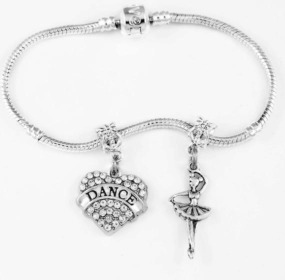 Dance Bracelet huge sale European style bracelet Ballet Jazz Hip hop