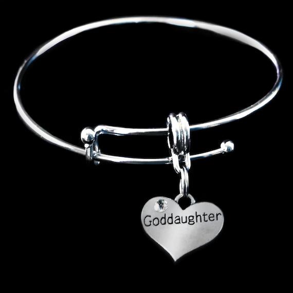 Goddaughter charm Huge sale God daughter charm fits bracelet or necklace