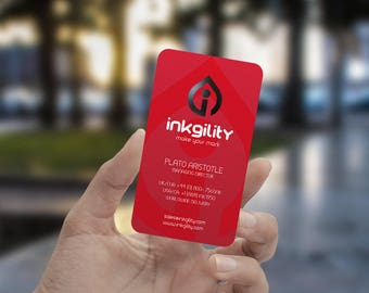Business Cards ((MBC-455) Template)