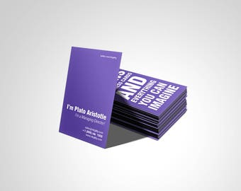Business Cards (OPTIMIZER Template)