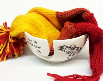 Firefly- I aim to misbehave- yarn bowl