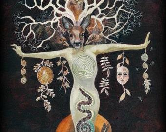 Tree of Life ....Dream Weaver Giclee Print
