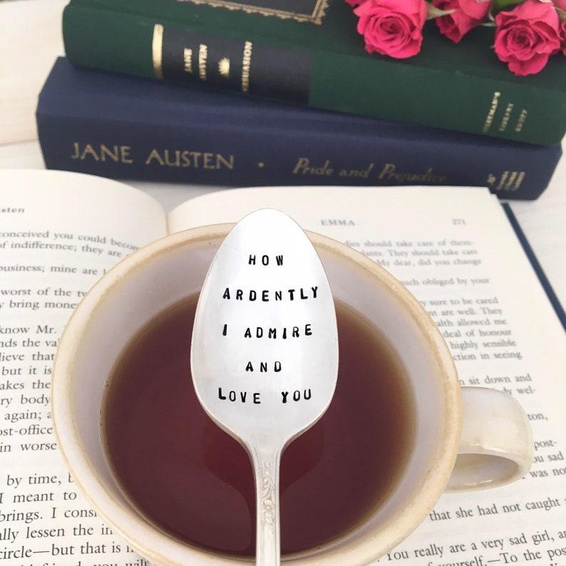 Pride and Prejudice tea spoon