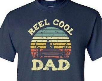 Fathers Day Dad Carp Fisherman Gift Mens T-Shirt Dad/'s Fishing T-Shirt