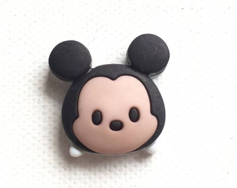 Mickey Tsum Tsum Pin, Mickey Mouse Lapel Pin, Mickey Tie Tack, Mickey Brooch, Mickey Pin, Mickey Tsum Tie Tack, Disney Inspired Jewelry