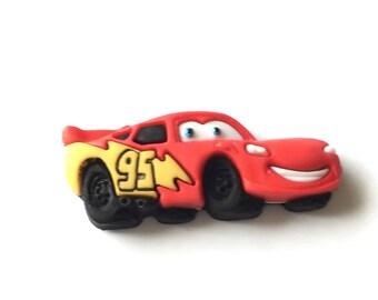 Lightning McQueen Pin, Lightning McQueen Tie Tack, CARS pin, CARS Tie Tack, Ka-Chow Tag Pin, Ka-Chow Tie Tack, Mater Pin, Mater Tie Tack