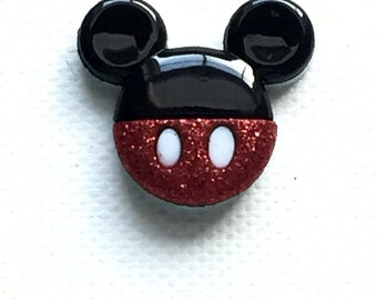 Mickey Mouse Pin, Mickey Mouse Tie Tack, Mickey Ears Pin, Mickey Ears Tie Tack, Mickey Lapel Pin, Mickey Brooch, Mickey Badge, Disney Gift