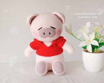 Pattern: Crochet Pig doll