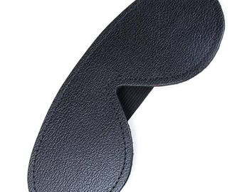 Blindfold - Fleece-Lined Leather