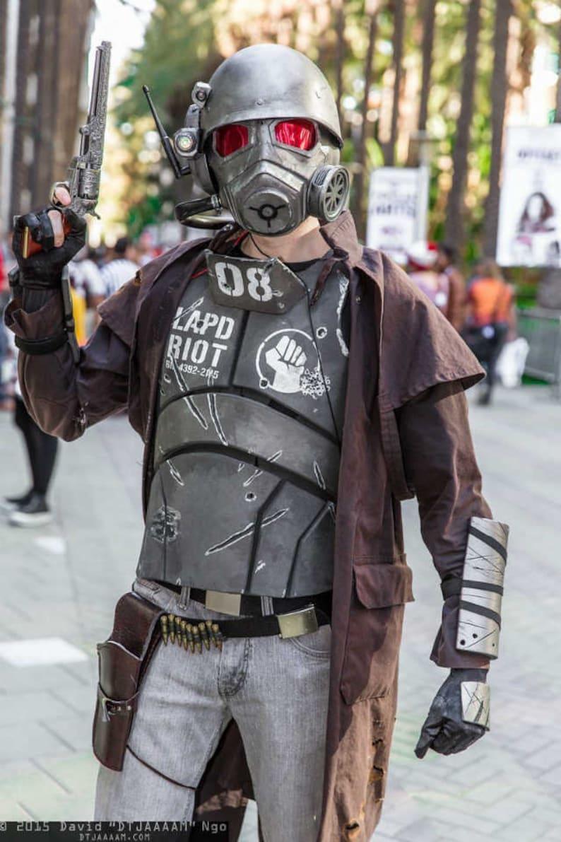 Fallout Ncr Ranger Vest Armor Bracers And Gloves Veteran New Etsy