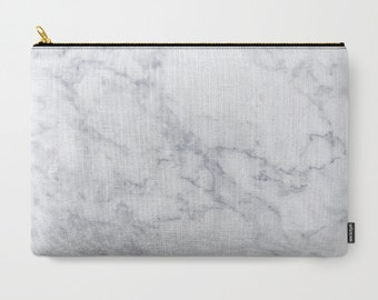 7503a9bfc984 White Marble Clutch Marble Makeup Bag Cute Marble Pouch White Marble Clutch marble  Travel kit Girls gift travel bag set white marble bags