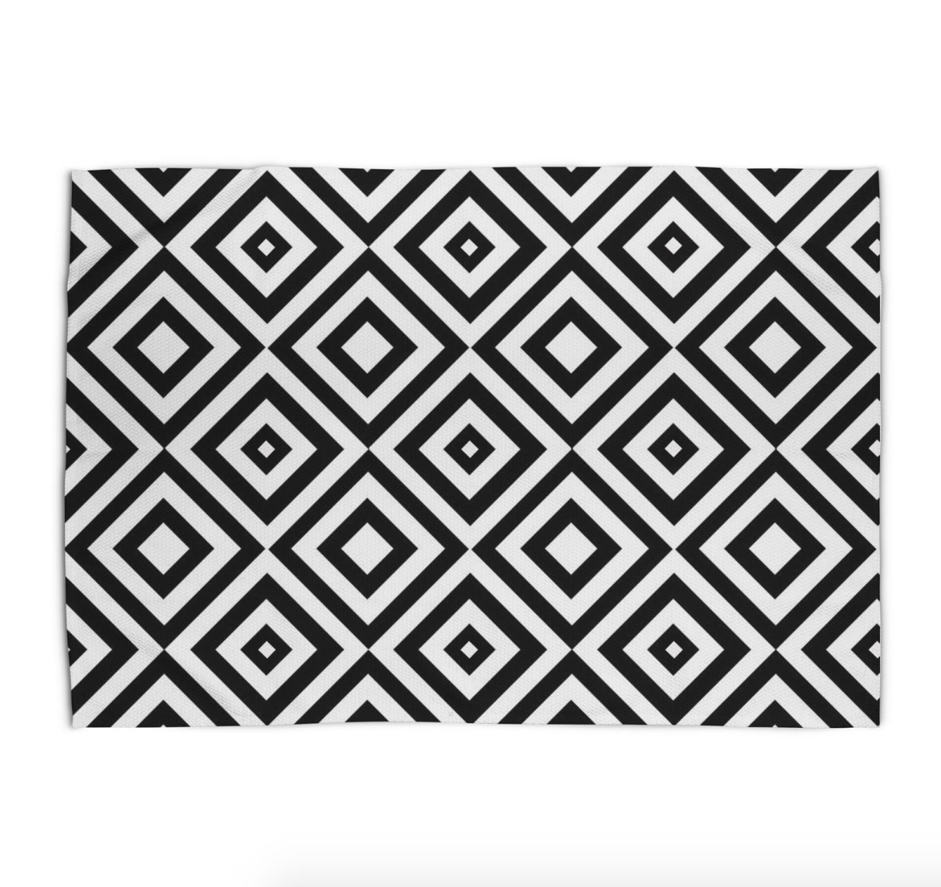 Black And White Area Rug Geometric Print Rug 5x7 Modern Rugs 3x5 4x6 Area Rug 2x3 Flat Weave Throw Rug Bedroom Women Dining Living Room Rug