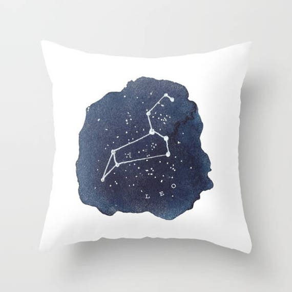 Star constellations pillow case Zodiac