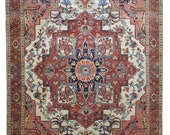 Handmade New Heriz Rug Design 701009 Size 10 39 -0 quot X 14 39 -1 quot