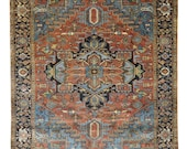 Persian Heriz Design Wool Rugs Design 2578 8 39 -0 quot X 10 39 -0 quot