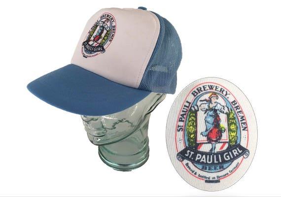 Vintage 1980 s St. Pauli Brewery Snapback Hat St. Pauli  a79e2e32b2b
