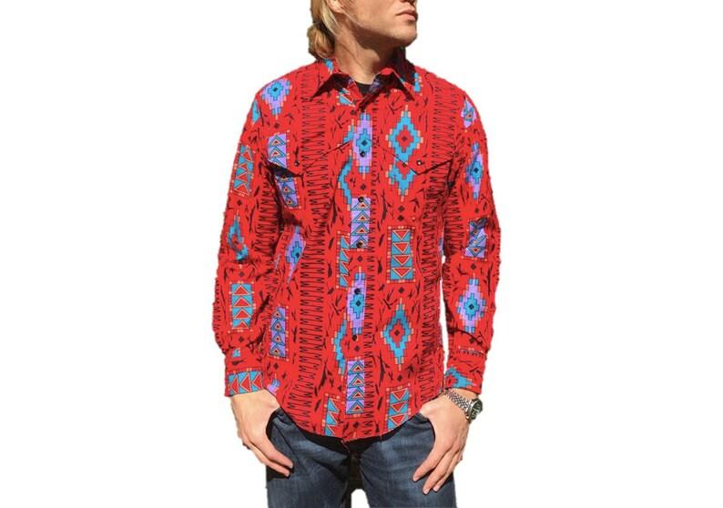 741be56d 1980's Vintage Wrangler Western Wear Shirt Southwestern | Etsy