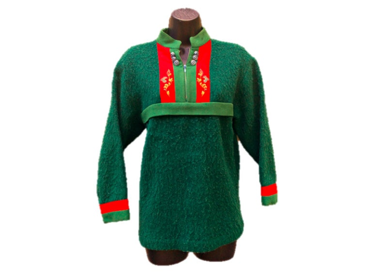 db9fc349450be9 Vintage 1950 s Nordic Sweater by Rolf Drangsgaard