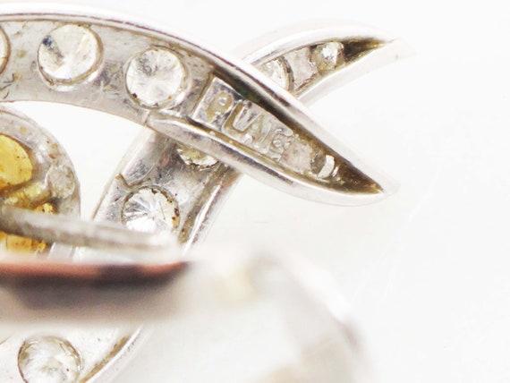 Vintage Pearl Dangle Earrings Japanese Cultured P… - image 10