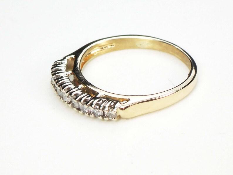 Vintage Diamond Ring 14k Gold Diamond Wedding Band Vintage Diamond Wedding Ring Vintage Wedding Band Diamond Wedding Band