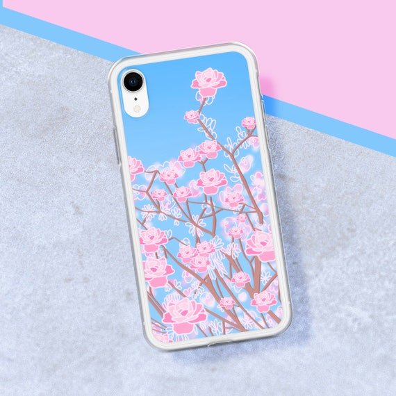 cherry blossom iphone xr case