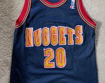 48609f95f Denver Nuggets Ellis Champion jersey