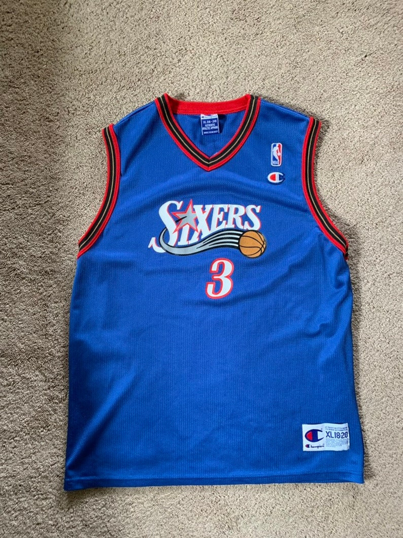 new product ff3c0 208a5 Philidelphia 76ers Allen Iverson youth jersey