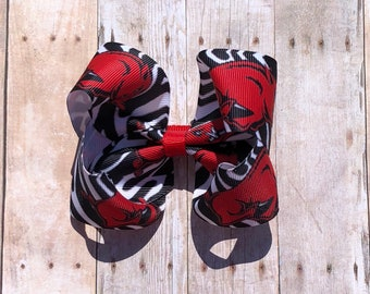 Razorback boutique bow
