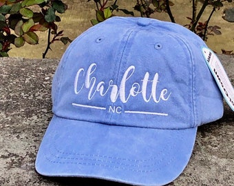 Personalized Baseball Cap | A City  | IG Handle | Hashtag Dog Mom Baseball Cap in 24 Colors, Pet Owner Gift