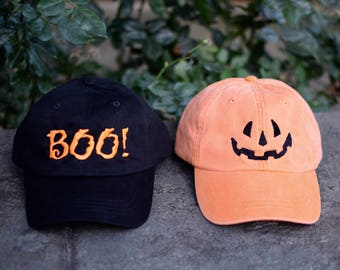 Embroidered Halloween Baseball Cap