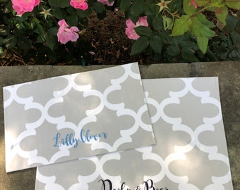 Personalized Pet Placemat, Dog Placemat for Food and Water, Washable Placemat for Feeding Stations