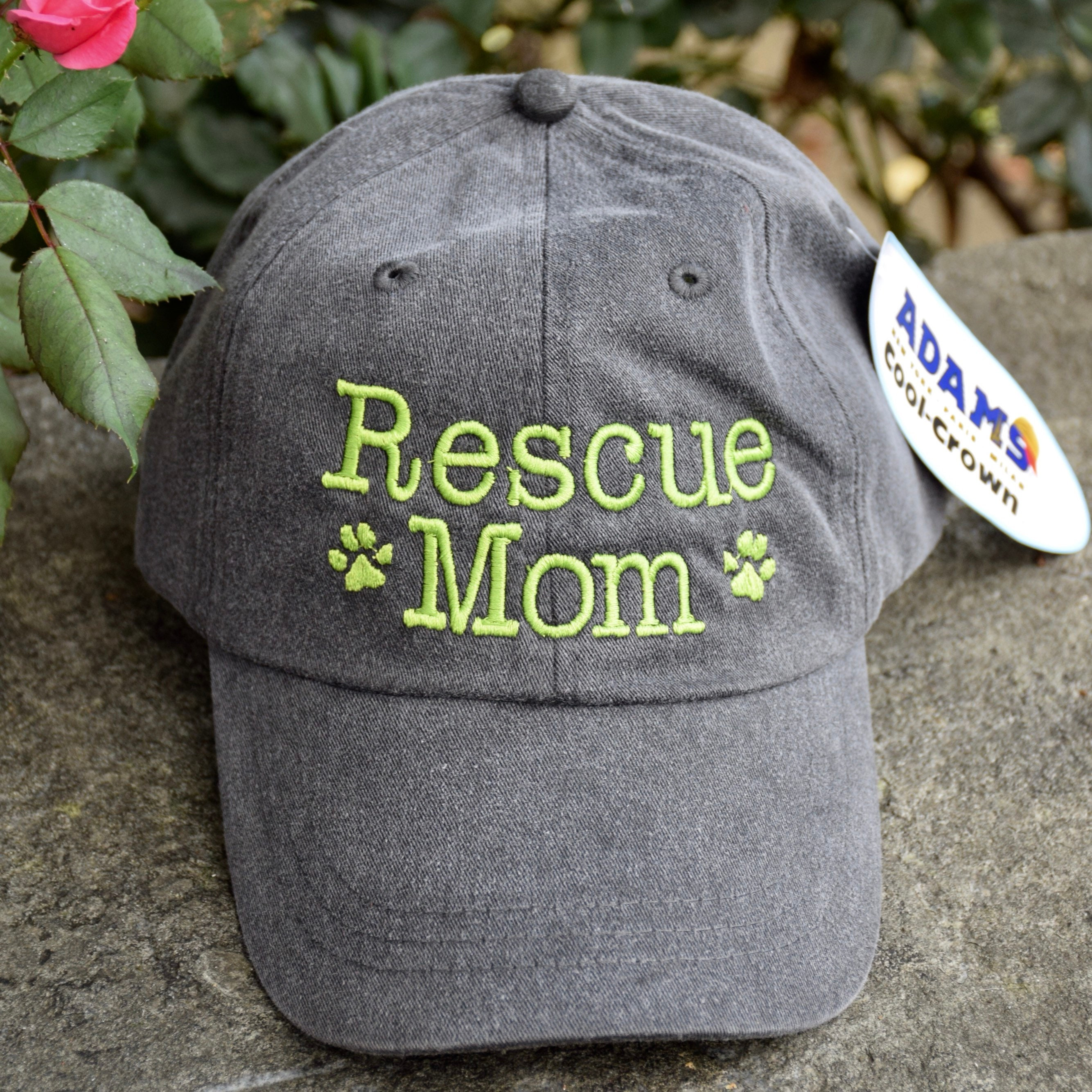 Personalized Lab Mom Dog Mom Baseball Cap With Rescue