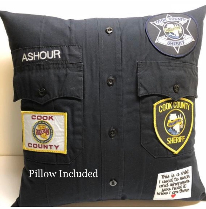Custom uniform Pillow with pillow form included. Pillow image 0